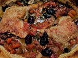 Duck Leg Casserole with Orange and Olives